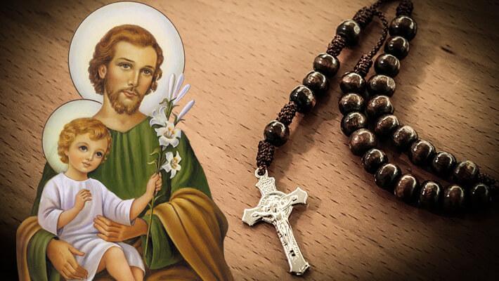 Como rezar o Terço de São José?